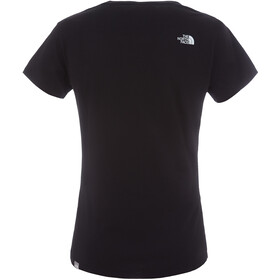 The North Face Easy S/S Tee Dame tnf black